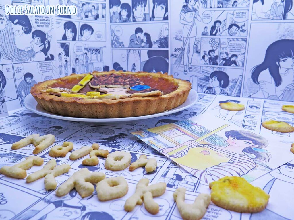 Crostata alla marmellata di Maison Ikkoku