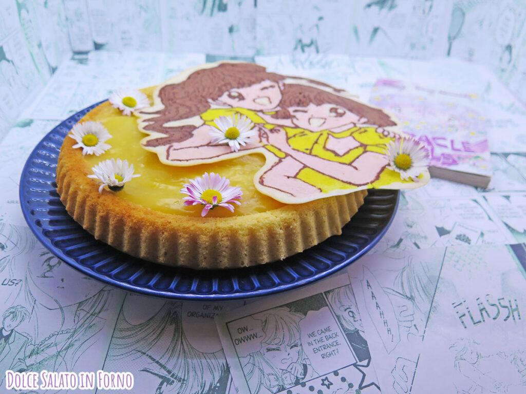 crostata morbida camomilla miele e limone di Miracle Girls