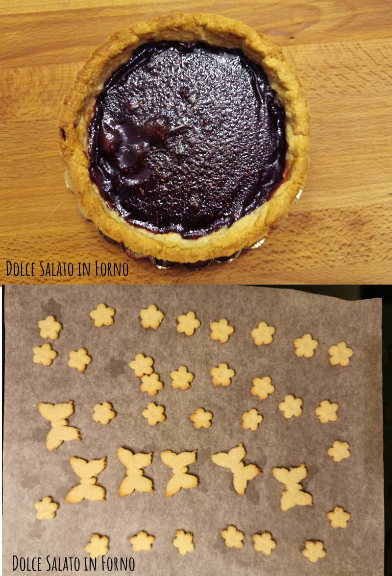 Crostata e biscotti sfornati