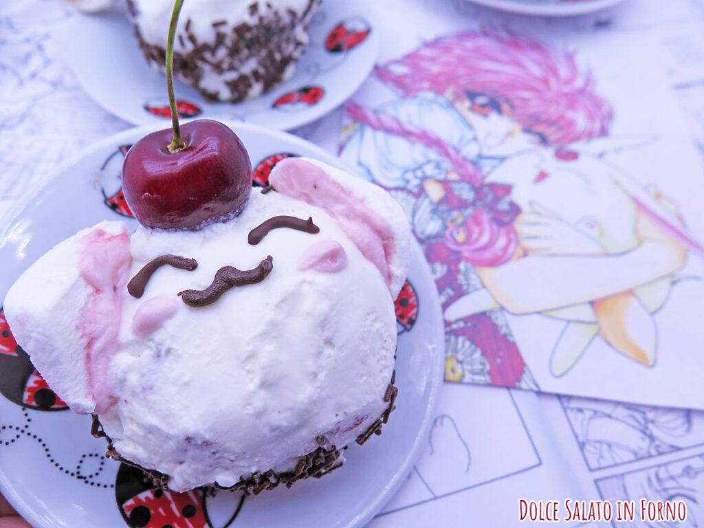 Cupcake Foresta Nera di Mokona di Rayearth