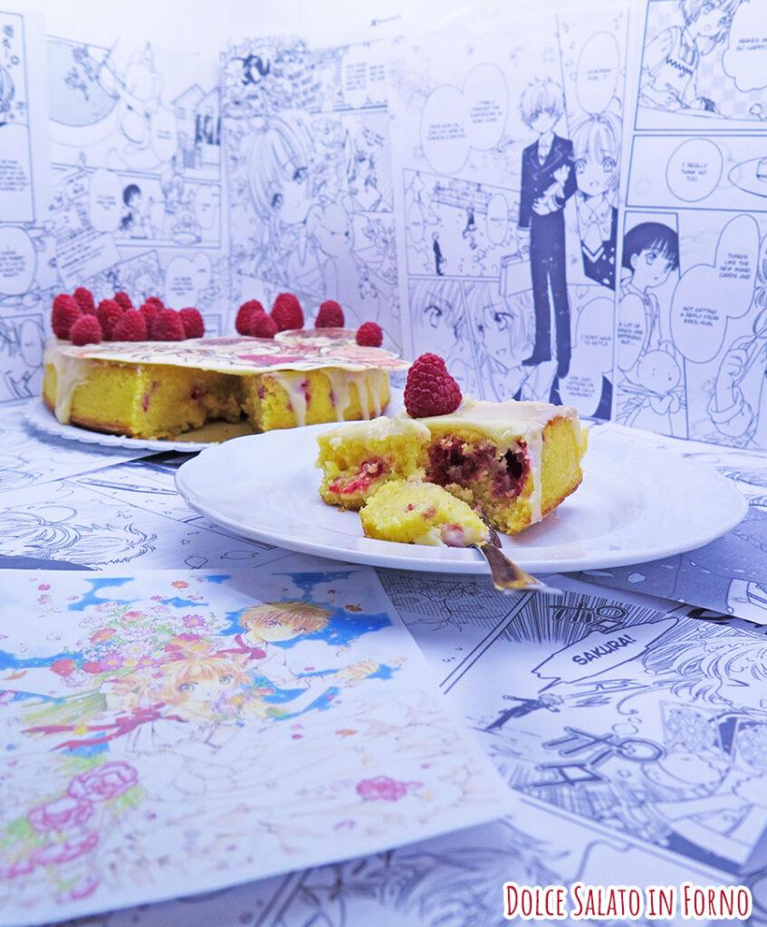 torta-cioccolato-bianco-lamponi-sakura-kinomoto-li-shaoran-card-captor-sakura