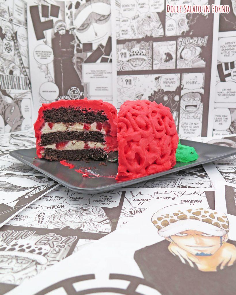 Fetta di torta a forma del frutto Ope Ope di Law