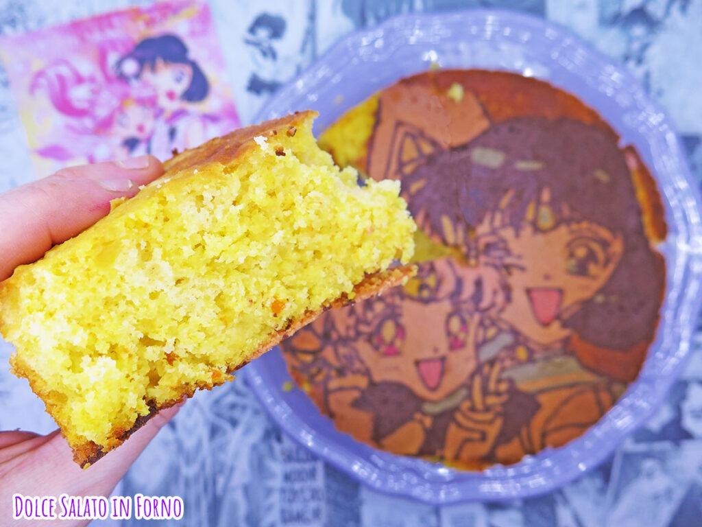 fetta pan di arancio di Hotaru Tomoe e Chibiusa