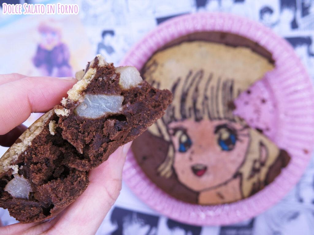 Fetta torta pere e cioccolato di Hikaru Hiyama di Kimagure Orange Road