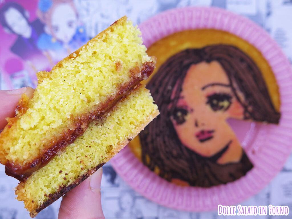 Fetta di Victoria Sponge Cake di Nana Komatsu di Ai Yazawa