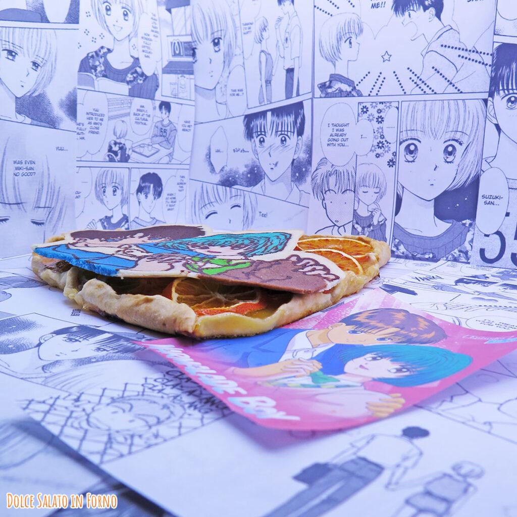 Galette arancia di Ginta e Arimi di Piccoli Problemi di cuore