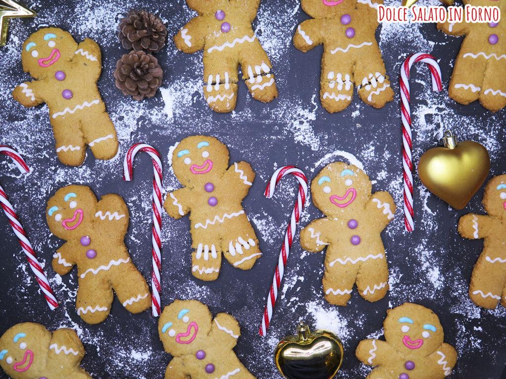 gingerbread omini pan di zenzero biscotti Zenzy Shrek