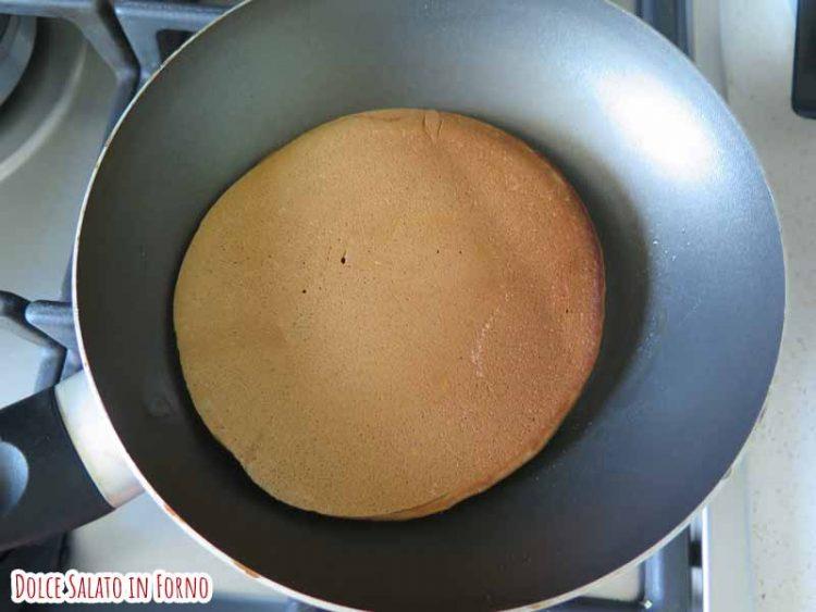 pancake girato