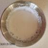 Glassa bianca per decorare biscotti con zucchero a velo e albume pastorizzato