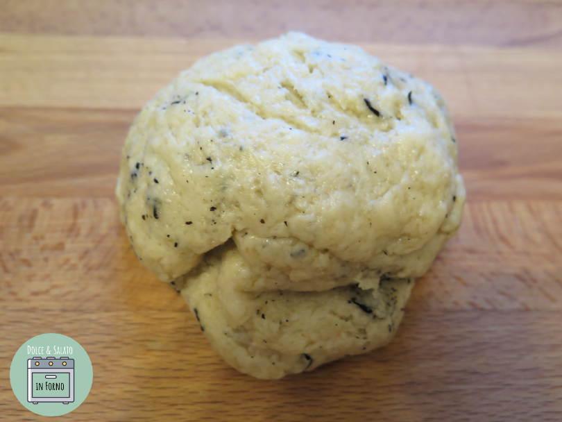 Impasto biscotti all'Earl Grey