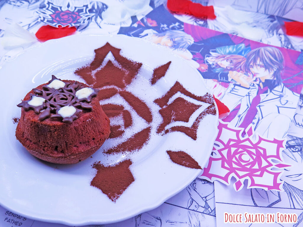 Red velvet lava cake di vampire knight