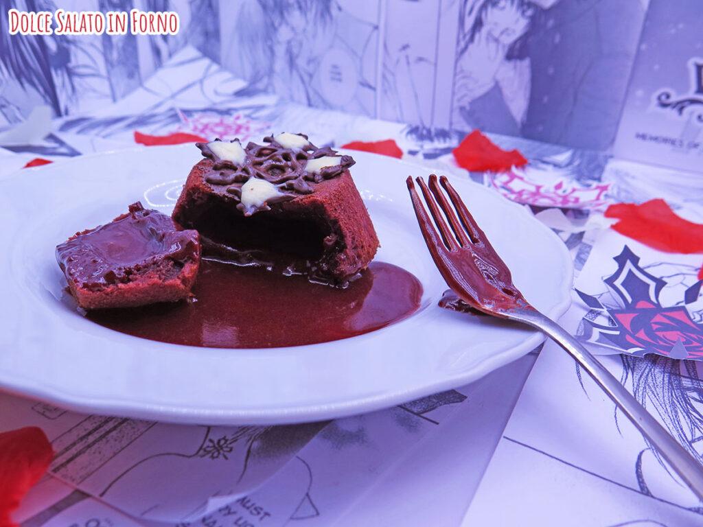 Lava cake red velvet di Vampire Knight