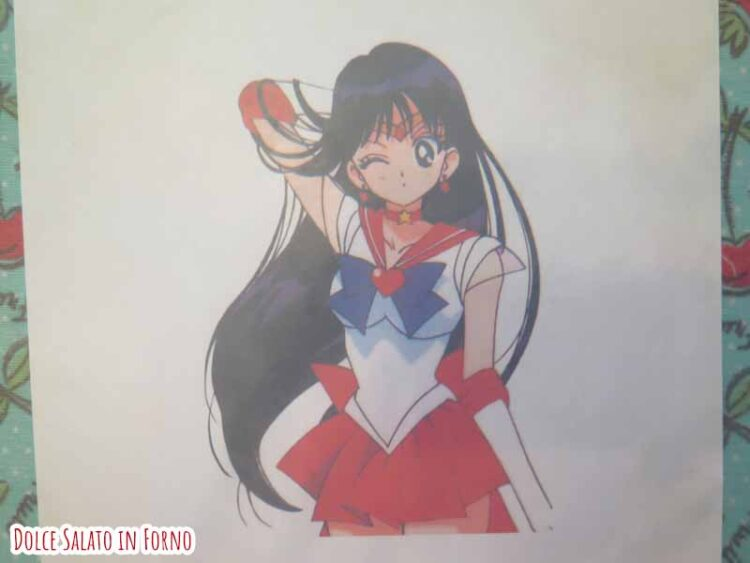 modello Sailor Mars