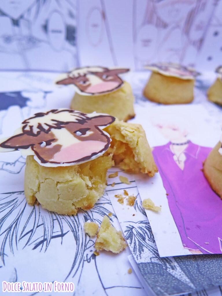 Mooncake cinesi all'ananas di Hatsuharu Sohma di Fruits Basket