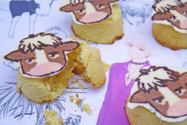 Mooncake cinesi all'ananas di Hatsuharu Sohma di Fruits Basket