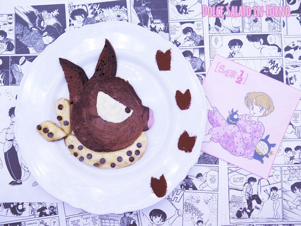 pancake al cacao di P-chan di Ranma 172
