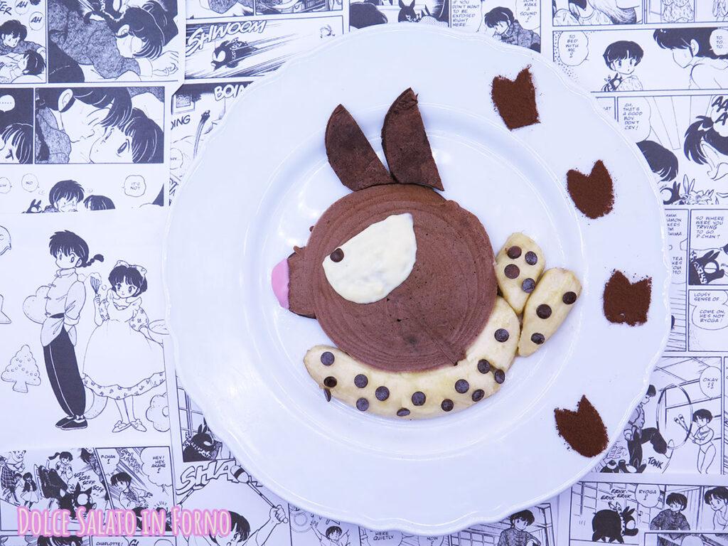 pancake al cioccolato di Pchan di Ranma