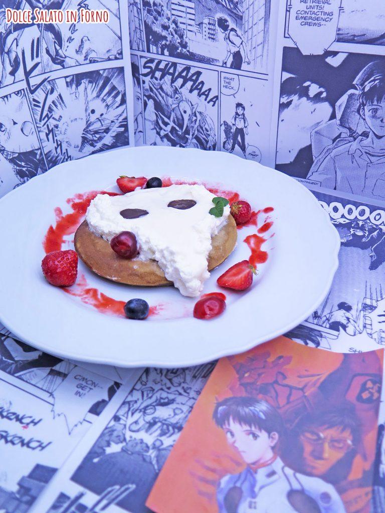 Pancake caffè angelo Sachiel Evangelion