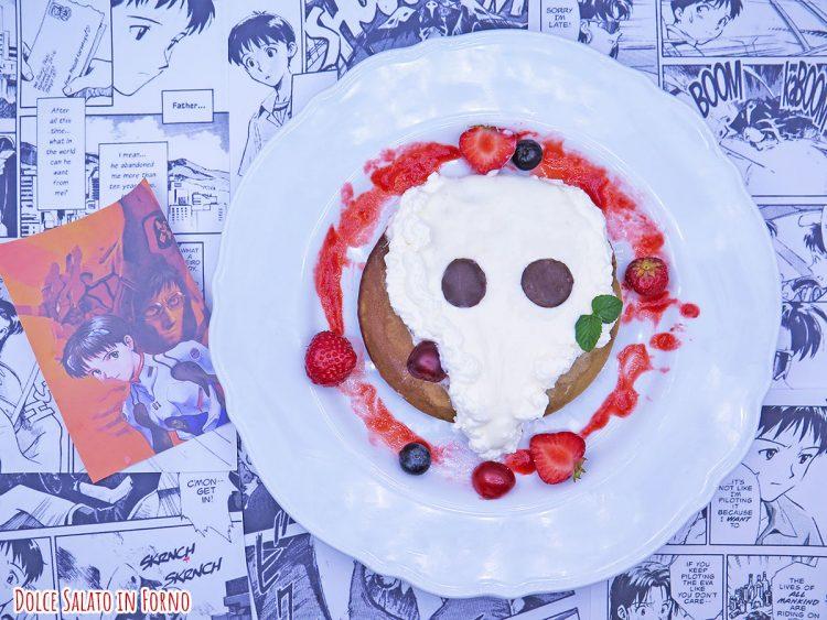 Pancake al caffè con crema latte e miele di Sachiel di Evangelion