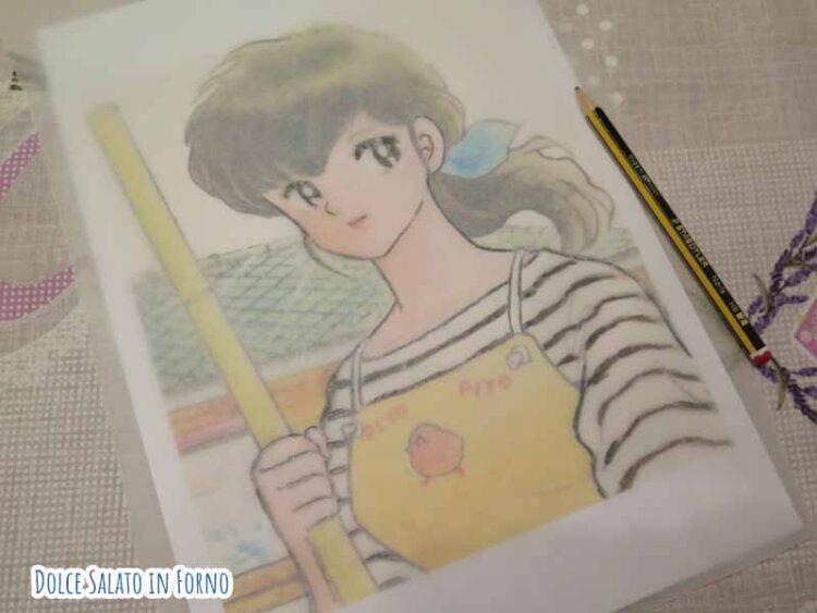 Ricalcare Kyoko Otonashi Maison Ikkoku