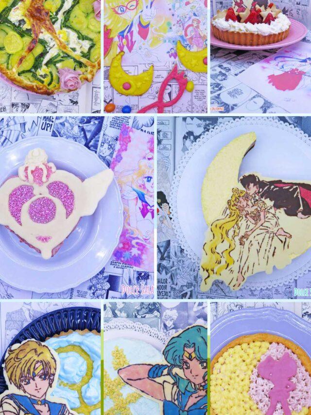 Sailor Moon Cafè – Le ricette della luna: 8 ricette a tema Sailor Moon