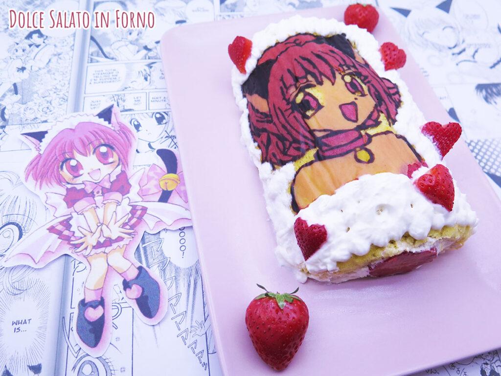 Rotolo alle fragole Mew Berry Mew Ichigo