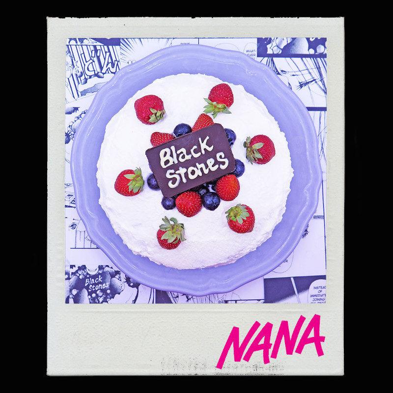 Shortcake fragole mirtilli Nana Black Stones