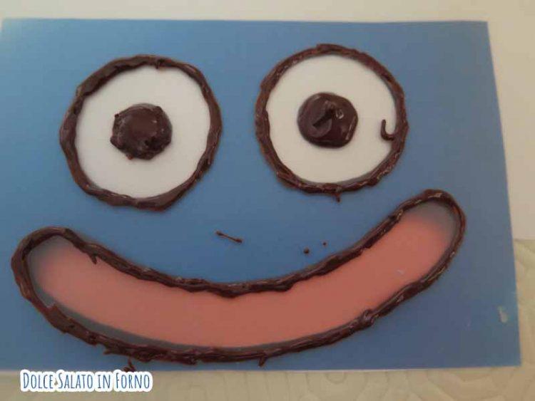 slime di cioccolato