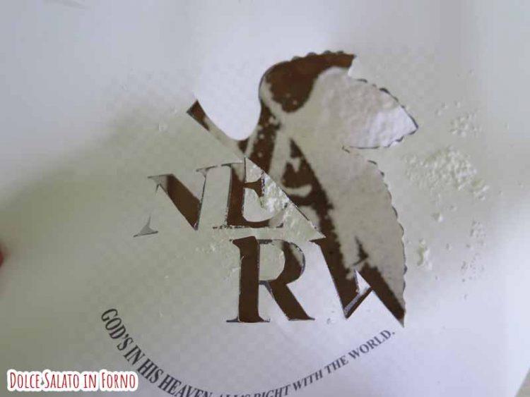 stencil NERV evangelion zucchero a velo