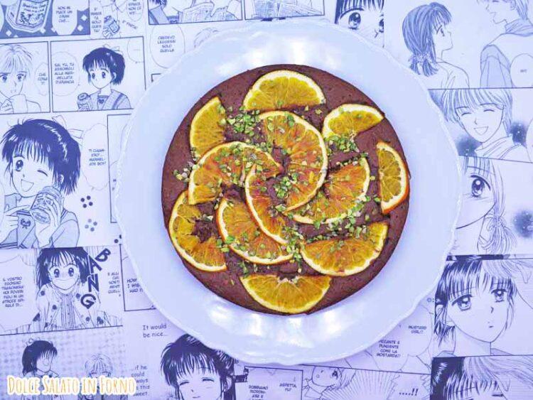 torta cioccolato arance nocciole