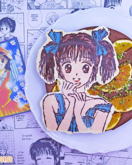 Torta cioccolato arance e nocciole di Miki Koishikawa di Piccoli problemi di cuore