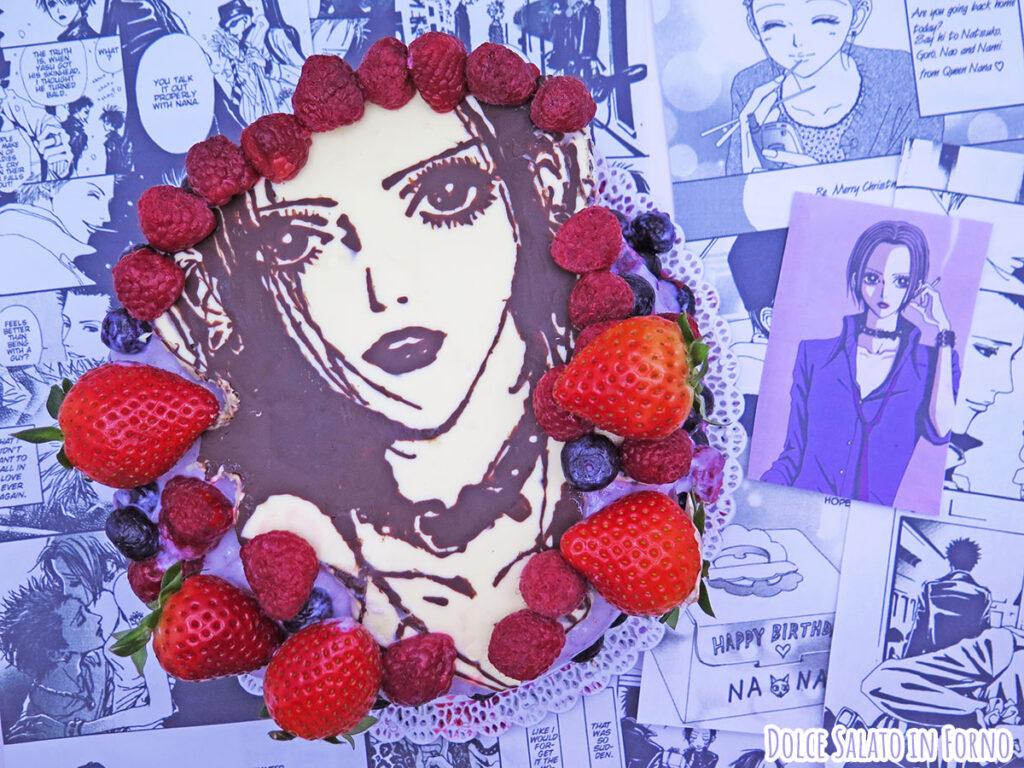 Torta ai frutti di bosco, fragole e cioccolato di Nana di Ai Yazawa