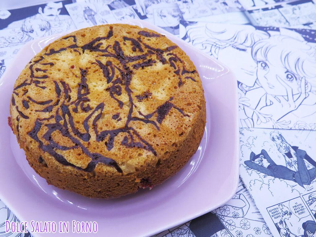 Torta alle prugne e mandorle di Haikarasan Ga Tooru