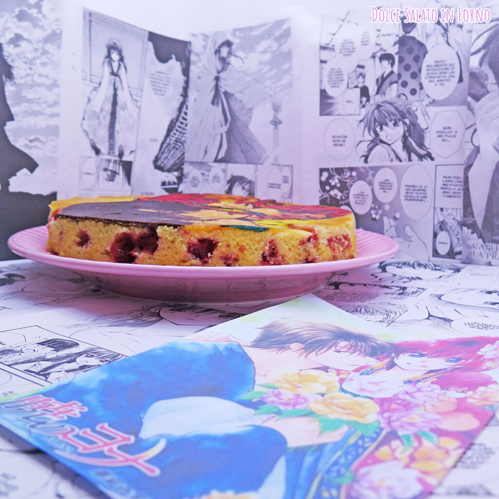 Torta morbida alle fragole, limone e yogurt di Yona e Hak