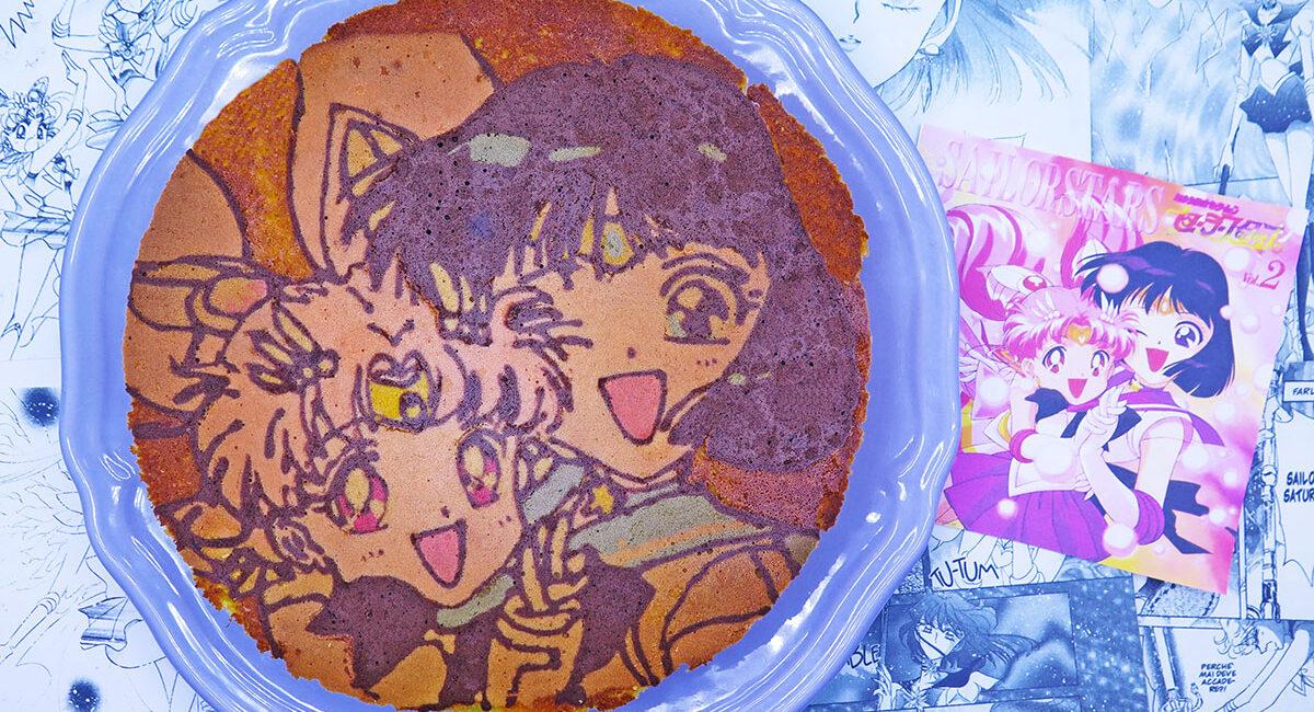 Pan di arancio di Sailor Saturn e Chibiusa