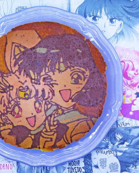 Pan di arancio di Sailor Saturn e Chibiusa