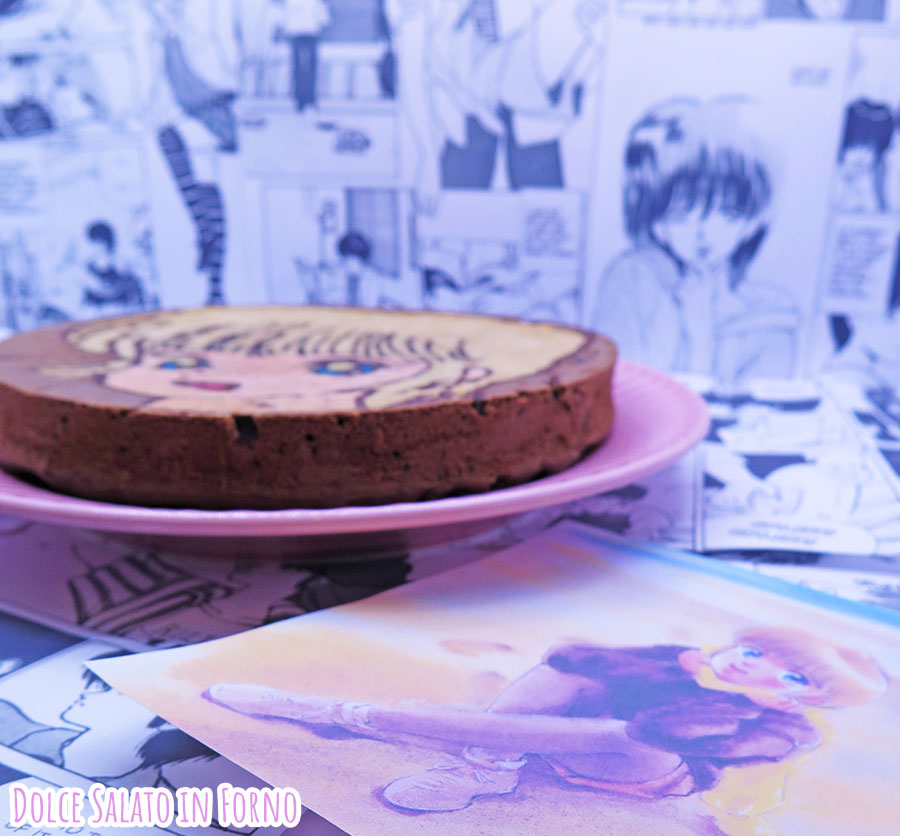 torta pere e cioccolato di Hikaru Hiyama di Kimagure Orange Road
