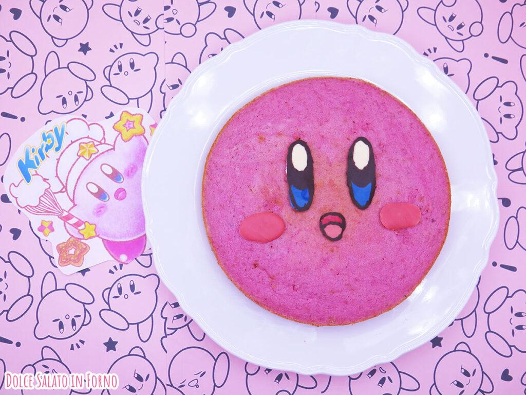 Torta rosa alle fragole di Kirby