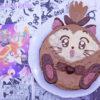 Torta al cioccolato caffè e ciliegie a forma di Ruby di Saint Tail