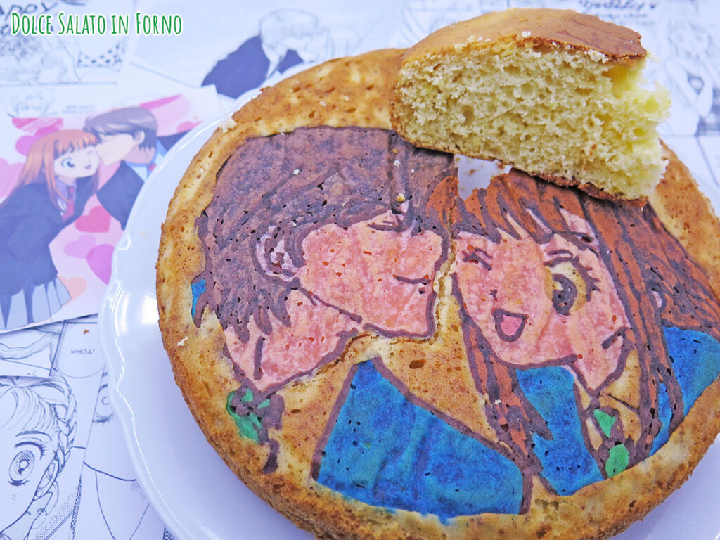 Torta del 3 di Itazura Na Kiss Naoki e Kotoko