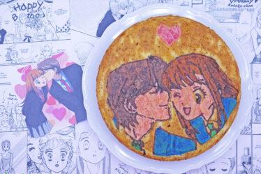 Torta smemorina di Itazura Na Kiss Kotoko e Naoki Irie