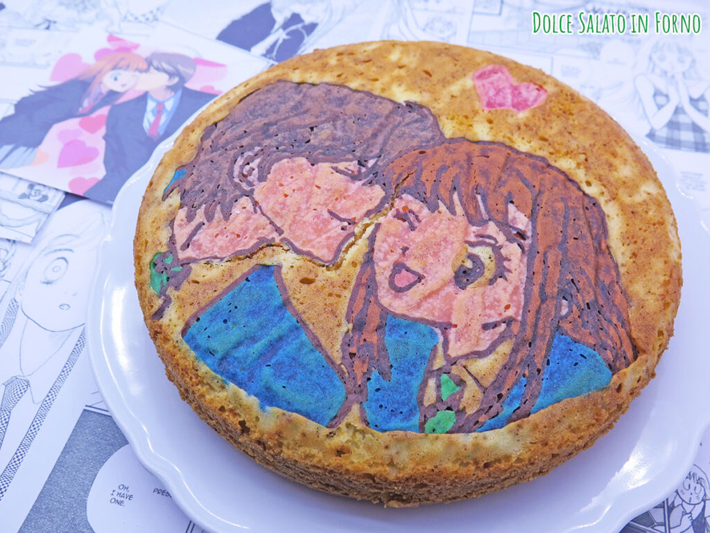 Torta del 3 di Itazura Na Kiss Kotoko e Naoki Irie