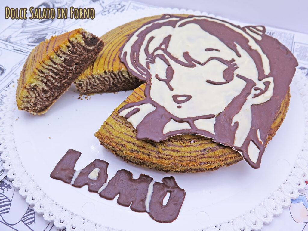 Torta tigrata Lamù