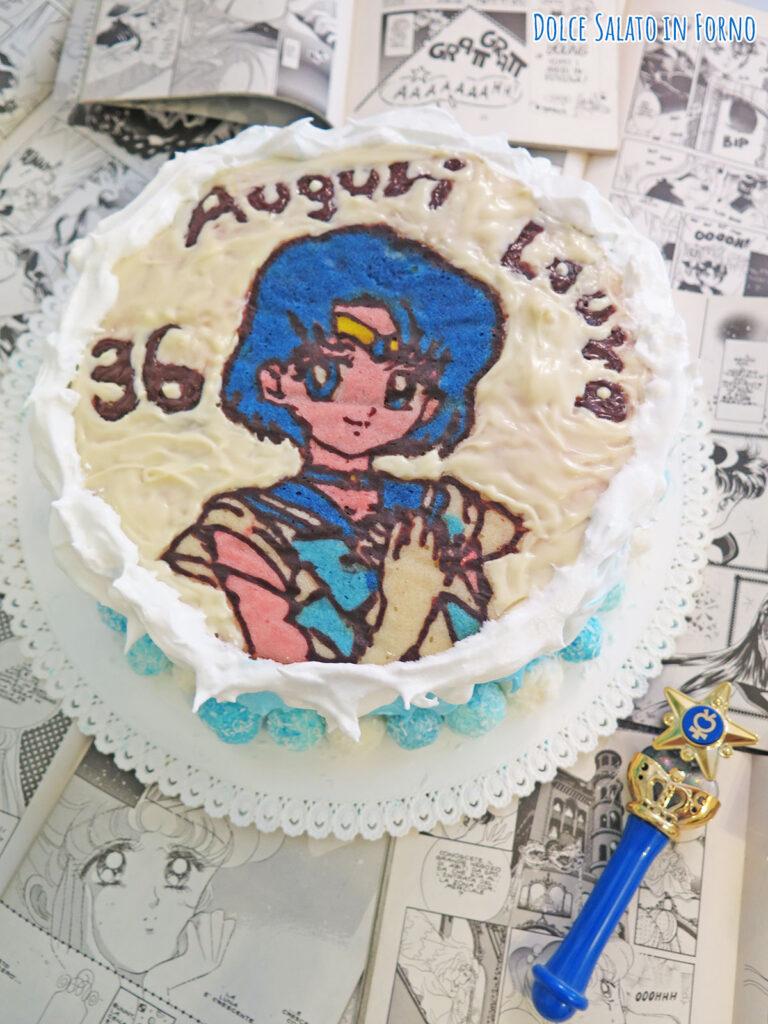 Torta al cocco ananas e lime di Sailor Mercury
