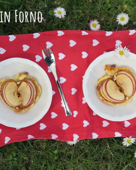 Tortine di mela di pasta sfoglia