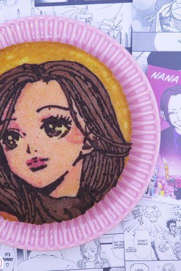 Victoria Sponge cake di Nana Komatsu di Ai Yazawa