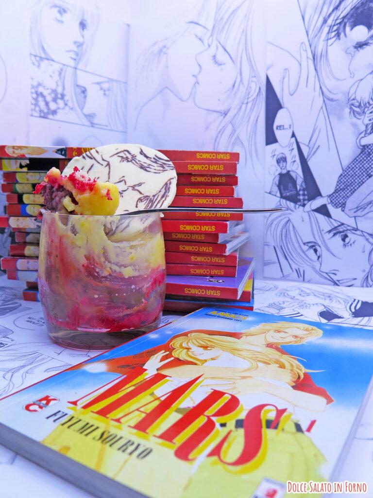 zuppa inglese di Kira e Rei di Mars di Fuyumi Souryo