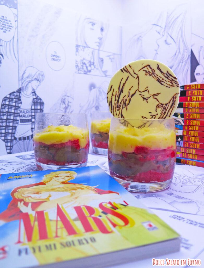 zuppa inglese monoporzione di Kira e Rei di Mars